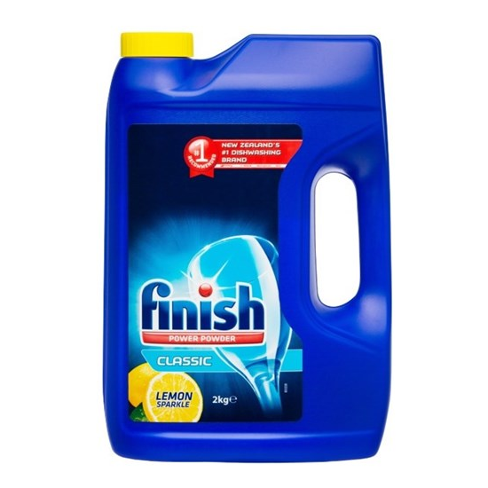 Finish: Dishwashing Powder - Lemon Sparkle 2kg