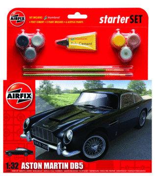 Airfix Aston Martin DB5 Medium Starter Set