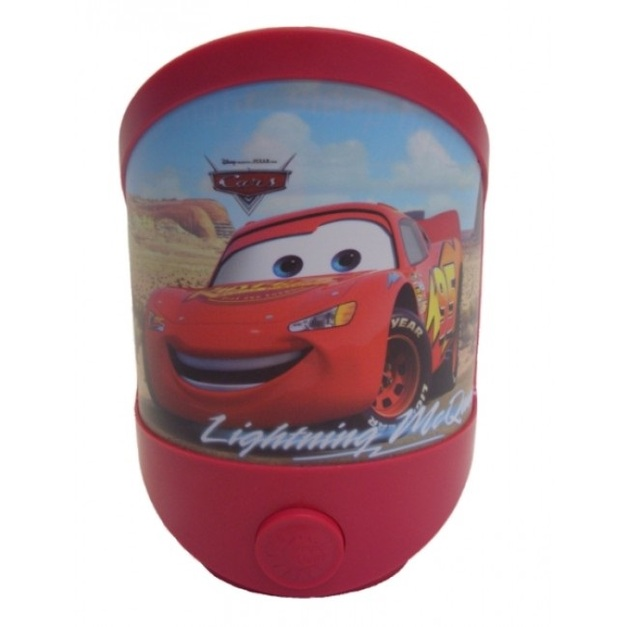 Disney LED Battery Operated Magic Night Light - Cars