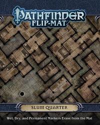 Pathfinder RPG: Slum Quarter Flip-Mat