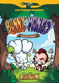 Bunny vs Monkey 1: Let the Mayhem Begin: Book 1 by Jamie Smart