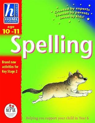 Hodder Home Learning: Age 10-11 Spelling by Rhona Whiteford image