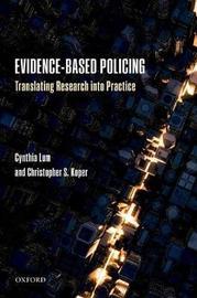 Evidence-Based Policing by Cynthia Lum image