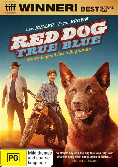 Red Dog: True Blue on DVD image