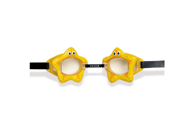 Intex: Fun Goggles - Yellow Starfish