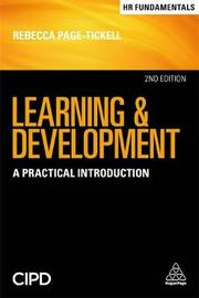 Learning and Development by Rebecca Page-Tickell