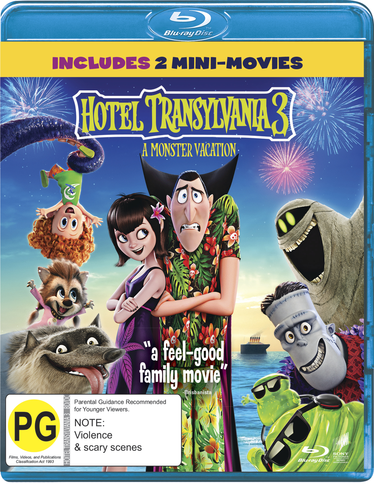 Hotel Transylvania 3: A Monster Vacation on Blu-ray image