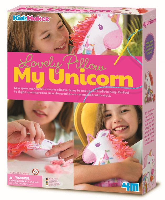 4M KidzMaker: Lovely Pillow - My Unicorn