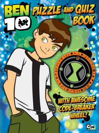 Ben 10 Puzzle and Quiz Book image