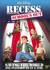 Recess: Schools Out on DVD