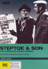 Steptoe And Son - Complete Series 4 on DVD