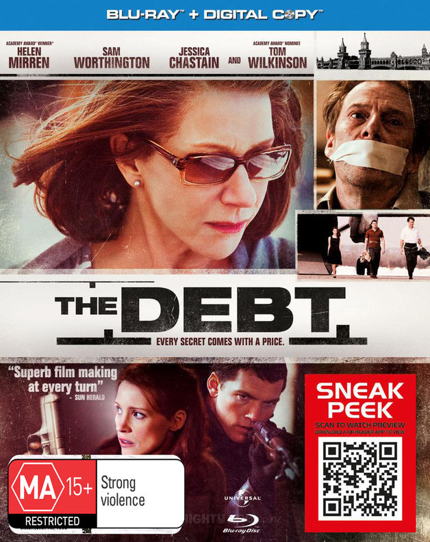 The Debt on Blu-ray