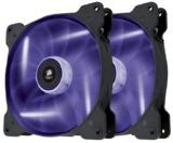 140mm Corsair SP140 High Static Pressure Case Fan Twin Pack - Purple