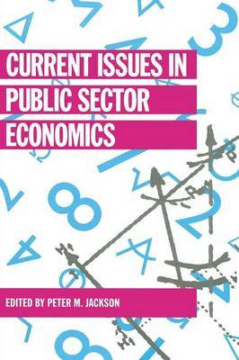 Current Issues in Public Sector Economics image