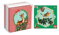 Bambi And Robin Mini Cards Box (8x2)
