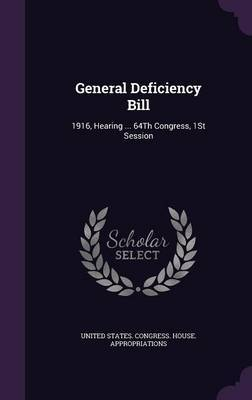 General Deficiency Bill image