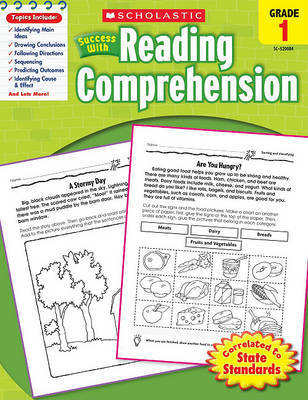 Scholastic Success with Reading Comprehension, Grades 1 by Robin Wolfe image