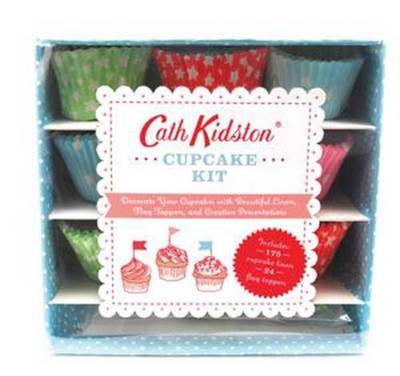 Cupcake Kit (Liners & Flag Toppers) by Cath Kidston
