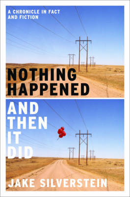 Nothing Happened and Then It Did by Jake Silverstein image