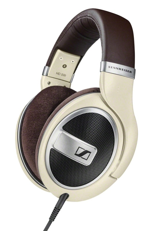 Sennheiser: HD 599 - Wired Around Ear Headphones (Ivory)