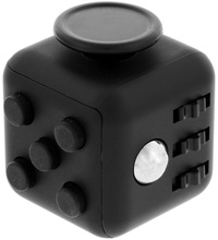 Anti-Stress Cube (Black/Black)