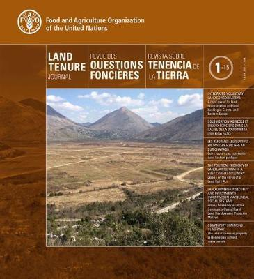 Land Tenure Journal 1/15 (Trilingual Edition) by Food and Agriculture Organization of the United Nations image