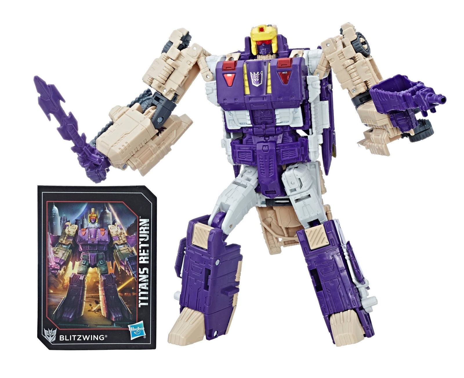 Transformers: Generations - Voyager - Blitzwing image