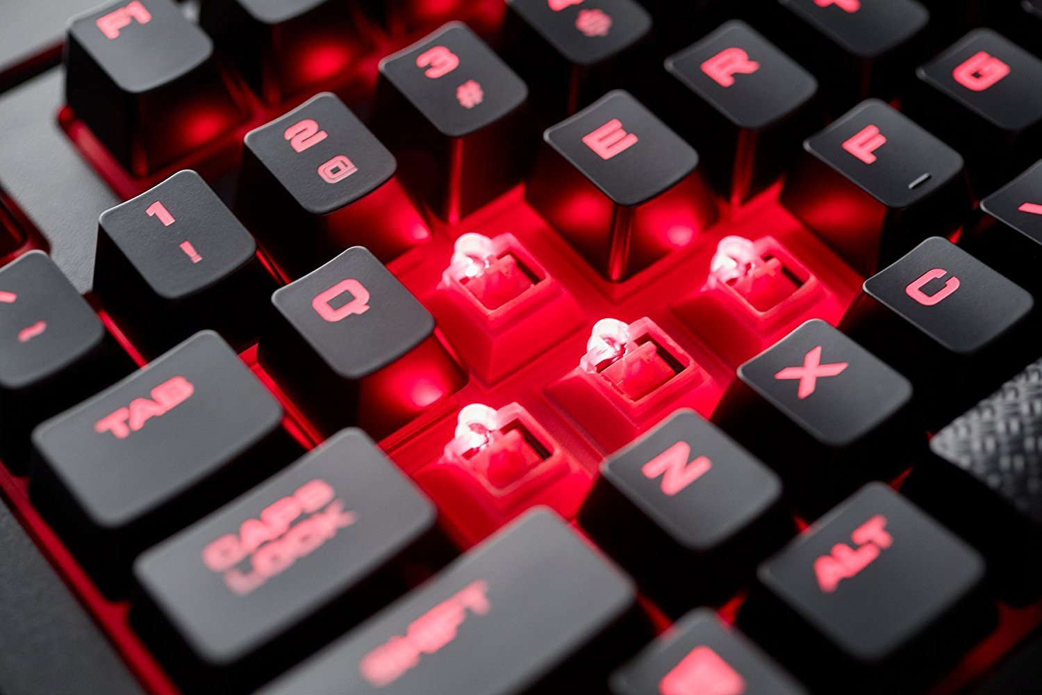 Corsair K68 Mechanical Gaming Keyboard (Cherry MX Red) for PC Games image