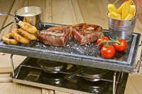 Hot Stone Grill - 7 Piece Set