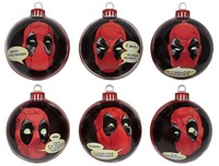Deadpool Christmas Bauble Ornament Pack