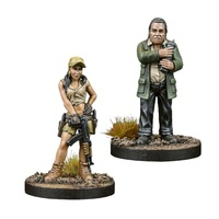 The Walking Dead: Rosita & Eugene Booster