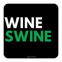 Don't Hold Back Coaster - Wine