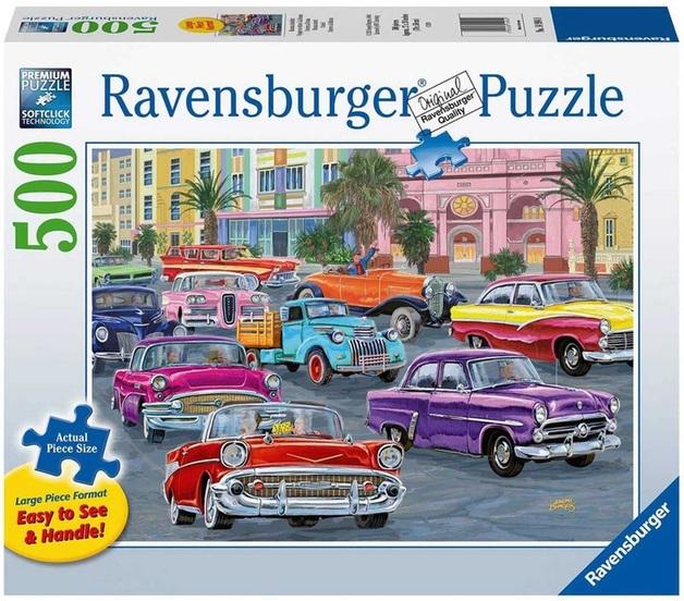 Ravensburger: 500 Piece Puzzle - Cruis'in
