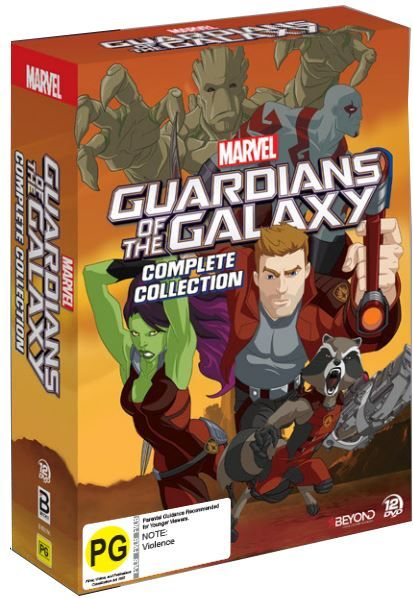 Guardians Of The Galaxy - Complete Collection on DVD