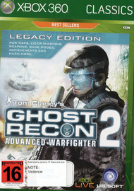 Tom Clancy's Ghost Recon: Advanced Warfighter 2 Legacy Edition (Classics) for Xbox 360 image