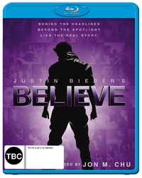Justin Bieber's Believe on Blu-ray