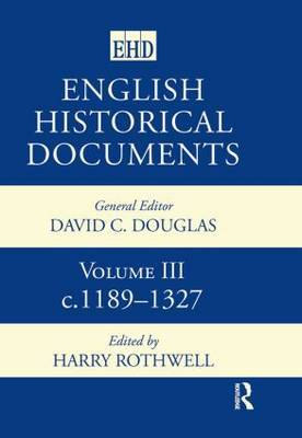 English Historical Documents: v.3