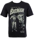 Batman: Two Face Retro Comic T-Shirt (X-Large)