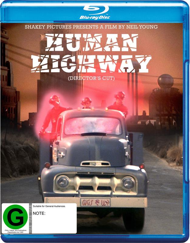 Human Highway (Director's Cut) on Blu-ray