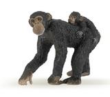 Papo - Chimpanzee & Baby
