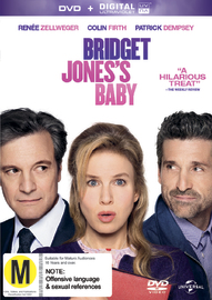 Bridget Jones's Baby on DVD image