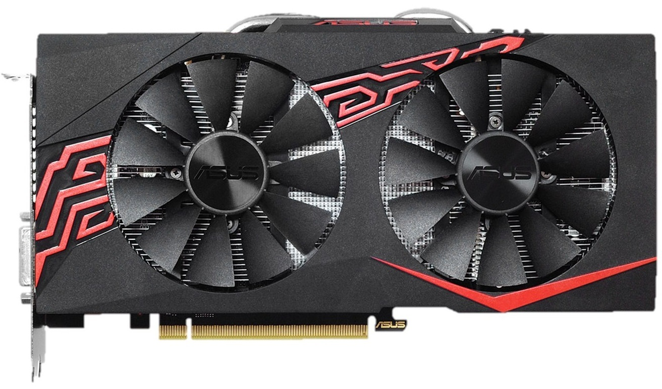 ASUS Radeon Expedition RX570 OC 4GB Graphics Card image
