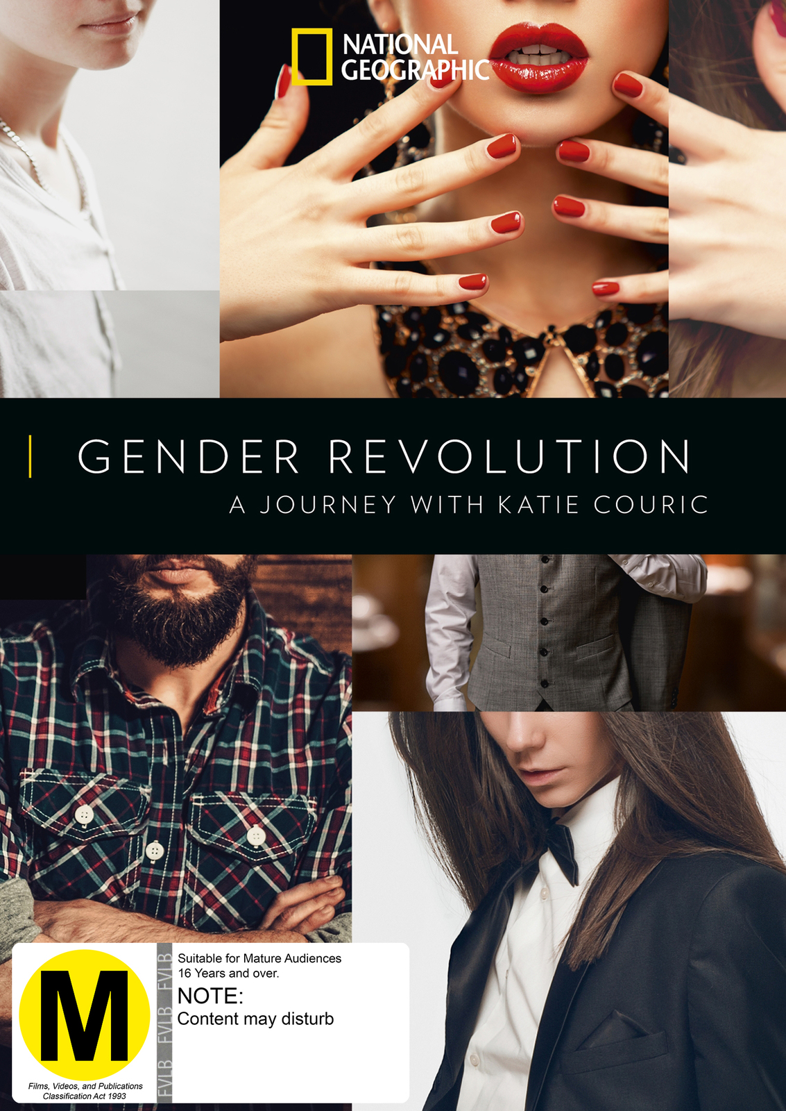 Gender Revolution: A Journey With Katie Couric on DVD image