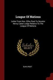 League of Nations by Elihu Root