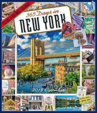 2019 365 Days in New York Picture-A-Day Wall Calendar by Workman Publishing