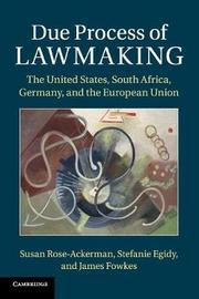 Due Process of Lawmaking by Susan Rose-Ackerman