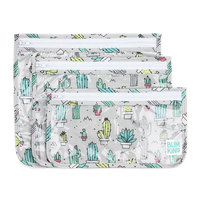 Bumkins: Clear Travel Bag - Cacti (3 Pack)