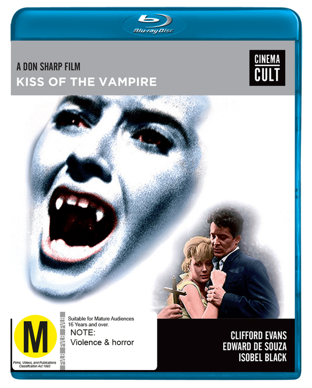 Kiss Of The Vampire on Blu-ray