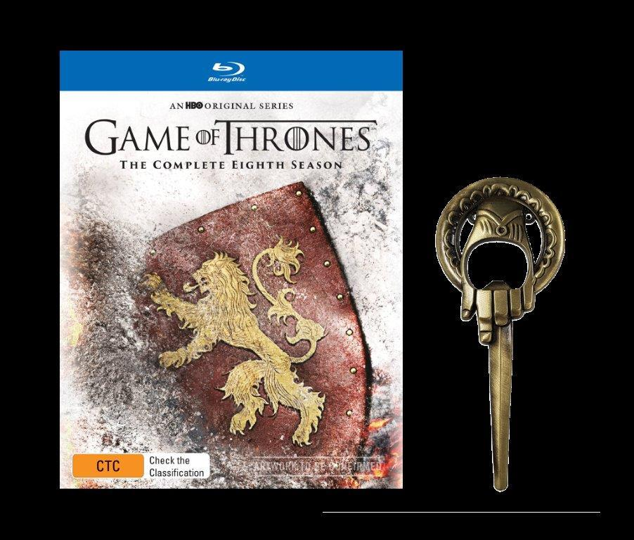 Game of Thrones Season 8 (Mighty Ape Exclusive) on Blu-ray image