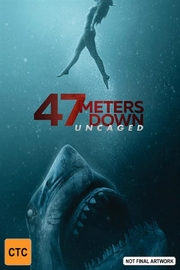 47 Meters Down: Uncaged on DVD image